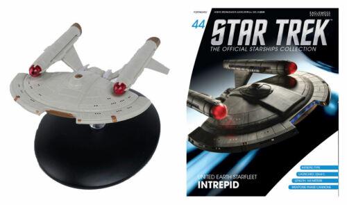 Star Trek Enterprise - United Earth Starfleet Intrepid & Magazine #44 Eaglemoss
