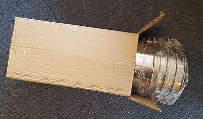 Stainless Steel Bucket Pail 4 Qt Dog Kennel Farm Water Milk Feeding Box Of 12