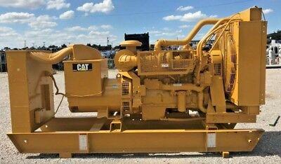 Caterpillar 455kw Diesel Generator 2005yr.tested Rebuilt Radiator Generator