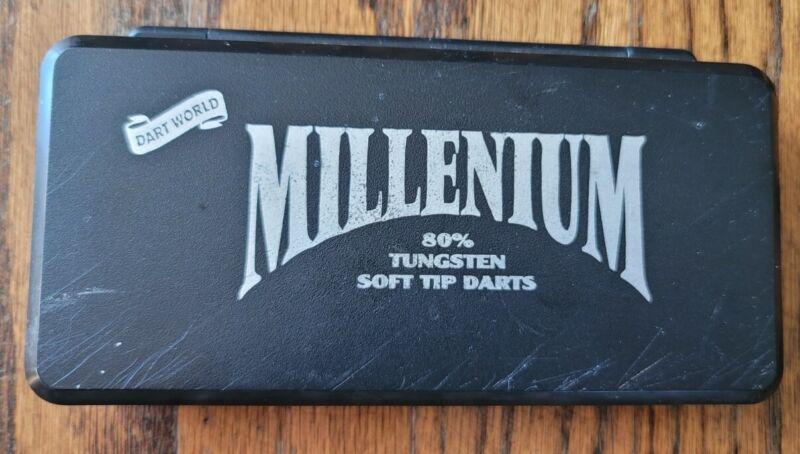 Dart World Millennium 80% Tungsten Soft Tip Darts –
