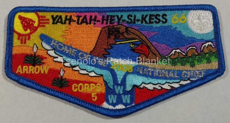 Yah Tah Hey Si Kess Lodge 66 2008 Nat Chief Flap Mint Condition FREE SHIPPING