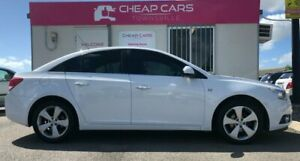 2010 Holden Cruze JG CDX White 6 Speed Sports Automatic Sedan Garbutt Townsville City Preview