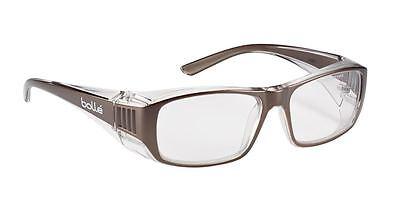 Bolle B808 Prescription Range Safety Spectacles Glasses - Clear Lens