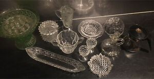 Vintage glassware Currajong Townsville City Preview