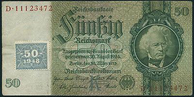 Ro.337b 50 DM 1948 Kuponausgabe (3)