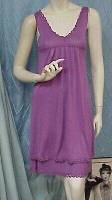 MILLY designer lilac/lavender knit empire waist sleeveless dress, sz. S