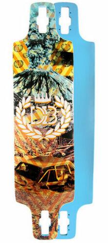 DB Longboards DOUBLE D Longboard Deck by ORIGIN w/ FREE GRIP
