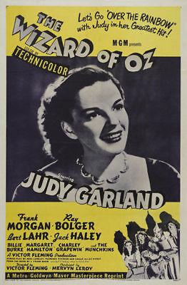 Der Zauberer Von Oz Filme (Der Zauberer von oz Judy Garland #2 Filmplakat)