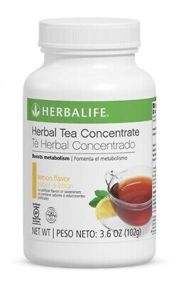 Herbalife Herbal Tea Concentrate large  3.6oz (102g) Lemon(All Flavors)