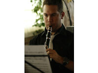 Clarinet, saxophone and flute lessons