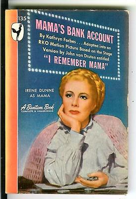 Mamas Bank Account By Forbes  Rare Us Bantam Movie Tie In Pulp Vintage Pb
