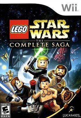 Lego Star Wars  The Complete Saga   Nintendo  Wii Game