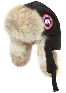 BRAND NEW CANADA GOOSE AVIATOR HAT SIZE S/M