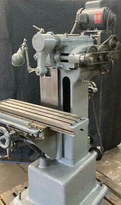 Bench Top Mill Alturnative Van Norman 12  Horizintal Milling Machine