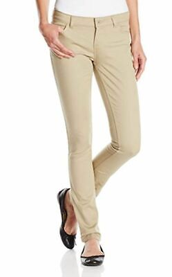 NEW Dickies Girl's Junior 5-Pocket Stretch Twill Pant, Desert Sand, 19