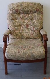 Solid wood Armchair -----£33.00