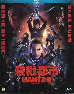 Gantz O Blu Ray Japanese Animation Yasushi Kawamura Keiichi Saito NEW R1 Eng Sub