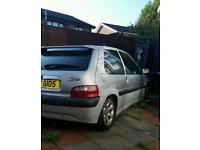 Citreon saxo 1.0 vts bodykit lowered