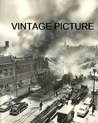 CHICAGO FIRE DEPARTMENT CFD 1951 3-11 47TH AND ASHLAND WOOLWORTH DIME NEW