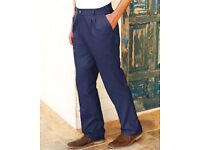 Larger-Sized Men's Chinos