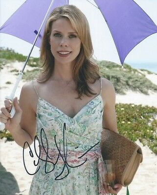 Cheryl Hines Curb Your Enthusiasm Autographed 8X10 Photo With Coa By Cha