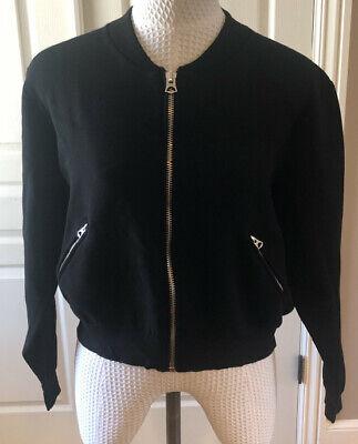 Acne Studios Olympia Boiled PUS14 Baseball Jacket  Sz L