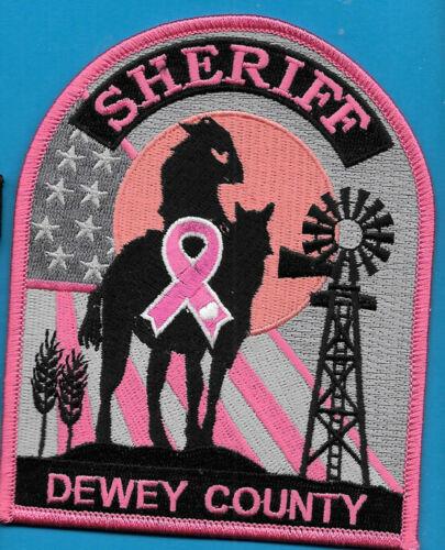 DEWEY COUNTY SOUTH DAKOTA SHERIFF DEPT PINK CANCER OIL RIG COWBOY SD SO (FIRE)