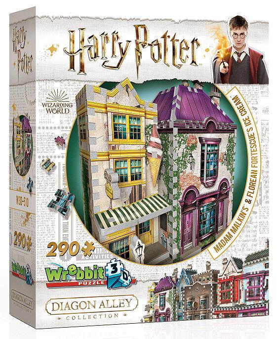 3D Puzzle - Harry Potter - Winkelgasse - Teil 3, 290 Teile, Rowling, Wrebbit