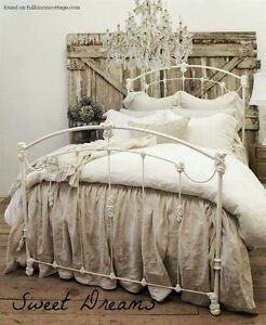 Looking for a Queen size White Iron Headboard
