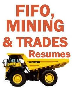 FIFO, Mining, Construction, Trades, Offshore, Oil & Gas Resumes Perth Perth City Area Preview