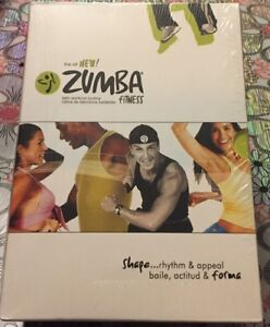 New Zumba Fitness 4 DVD Set