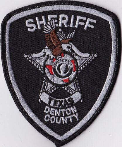 Denton County Sheriff subd. Police Patch Texas TX