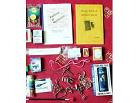 Vintage magic tricks and puzzles