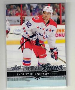 EVGENY KUZNETSOV .. 2014-15 Upper Deck .. YOUNG GUNS ROOKIE CARD