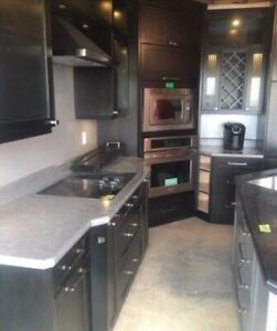 Custom kitchen, island, appliances and more