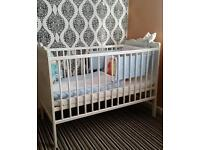 Baby cot for sale like new