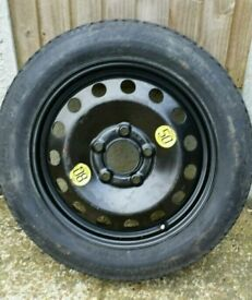 "BMW 3 SERIES SPACE SEVER SPARE WHEEL 16"" very good condition"