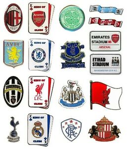 OFFICIAL-FOOTBALL-CLUB-Pin-Badge-Choice-of-Flag-Scarf-Crest-Street-Sign