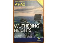 Wuthering Heights A LEVEL revision guide- York Notes