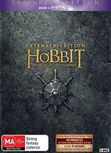 The Hobbit: The Battle of the Five Armies (UV) NEW R4 DVD