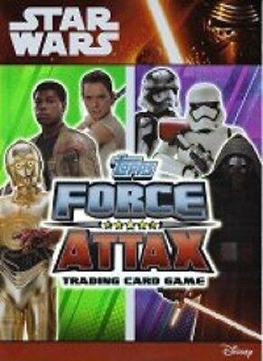 Star Wars Force Attax Movie Cards 2015 ( 10 Karten aussuchen )