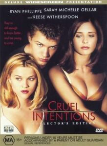Cruel-Intentions-DVD-1999-Region-4-Drama-DVD-Rated-MA-Used-in-VGC