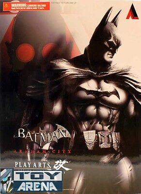 Batman Arkham City Bat Man Play Arts Kai Action Figure Square Enix