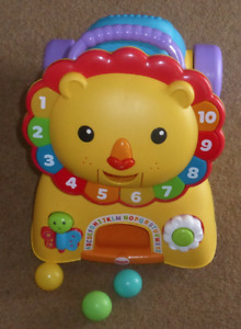 Fisher-Price Lion Riding Toy And Walker