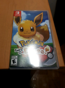 Pokemon Lets Go Evee - Trade for Mario Odyssey, Switch Games