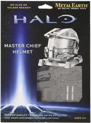 Fascinations Metal Earth 3D Laser Cut Steel Model Kit - HALO Master Chief
