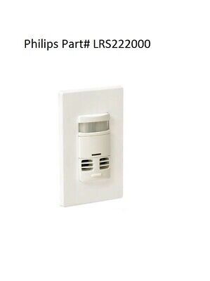Philips Advance Lrs222000 Occupancy Sensor Wall Switch Sensor 120277 Vac White