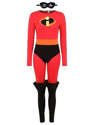 George Disney The Incredibles 2 Erwachsene Damen Kostüm Kleid Outfit Büchertag