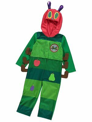 George Very Hungry Caterpillar Boys Fancy Dress Costume Outfit World Book Day](Very Hungry Caterpillar Baby Outfit)