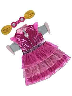Mädchen Paw Patrol Skye Maskenkostüm Abnehmbare Flügel Kinder 2-8 - Paw Patrol Skye Kind Kostüm